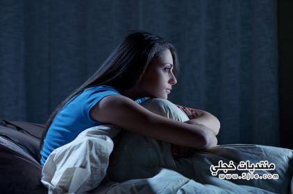 التوتر والجوع والعطش اثناء النوم