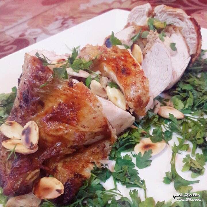 طريقة دجاج روستو بالارز