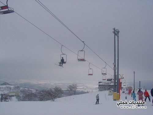 اشهر منتجعات التزلج باليابان 2013