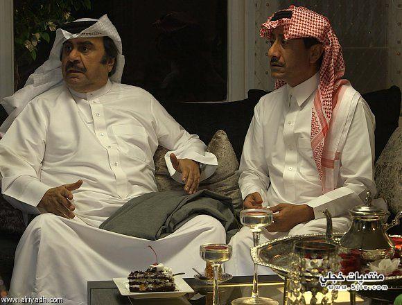 حسين عبدالرضا وناصر القصبي مسلسل