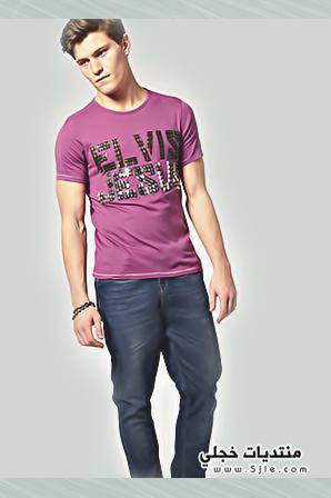 ازياء صيفية للشباب 2013 ملابس