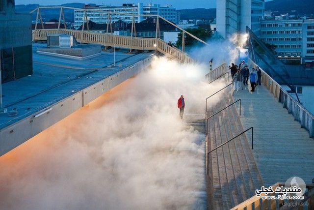 غيوم صناعية الغيوم الصناعية طريقة