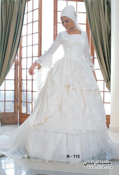 فساتين زفاف محجبات فساتين محجبات