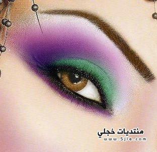 مكياج عيون للعروسه اجمل مكياج