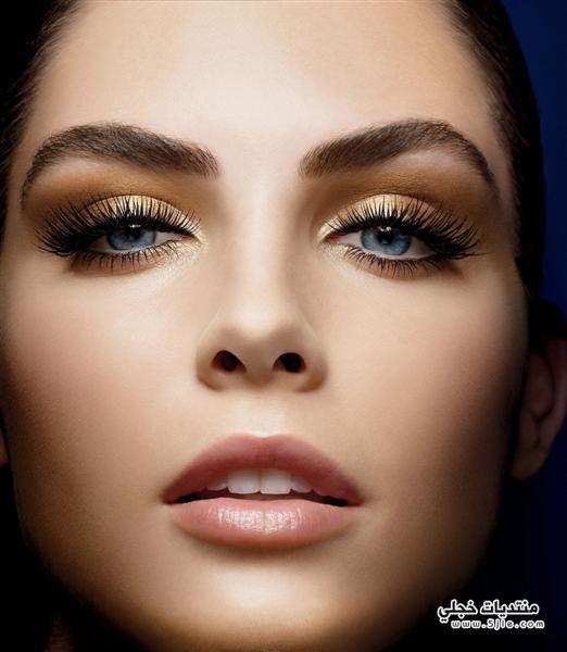 مكياج عيون جديد مذهل اجمل