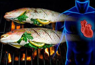 احلى فوائد السمك المشوي الصحية