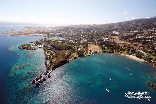 احلى جزيرة تاهيتي السياحة جزيرة