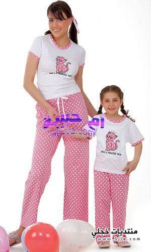 مجموعة بيجامات للصبايا اجمل الملابس