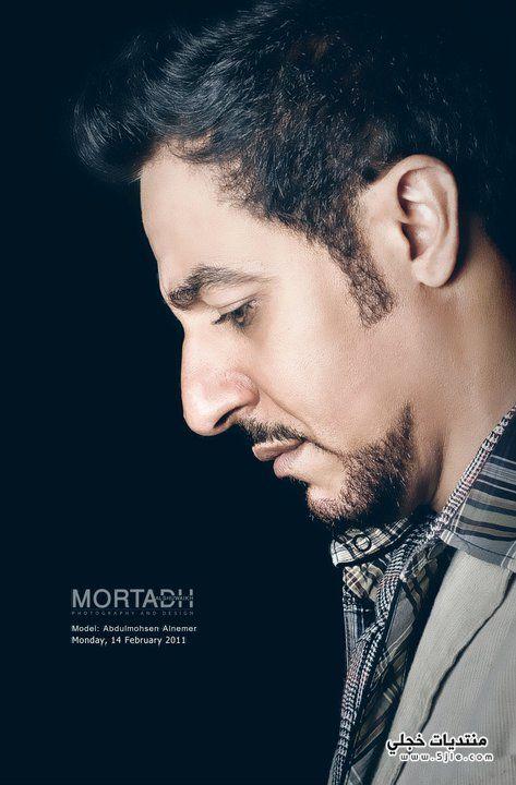 المحسن النمر الفنان السعودي المحسن