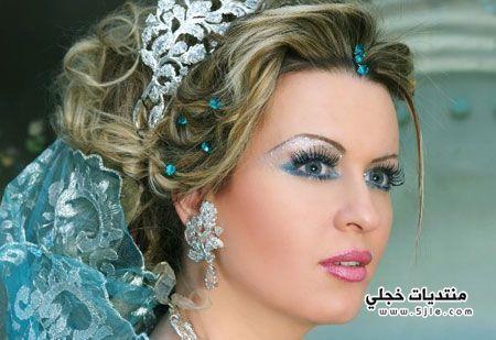مجموعة مكياج روعة للعروس مكياج