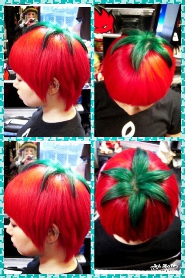 تسريحة الطماطم اليابان 2014 تسريحة