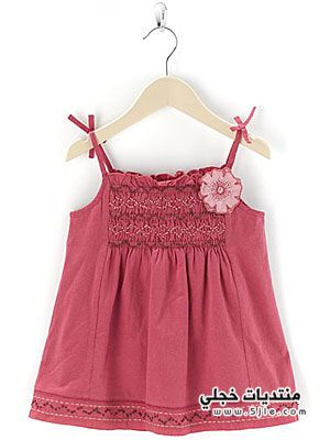 اجدد ملابس اطفال بنوتات 2013