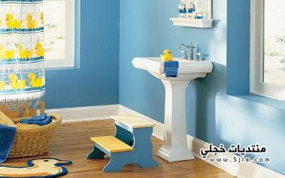 اروع ديكورات حمام اطفال 2015