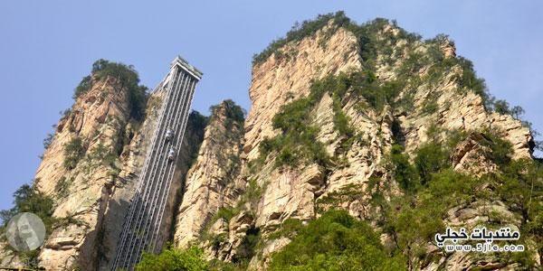 مصعد بايلونغ اطول مصعد العالم