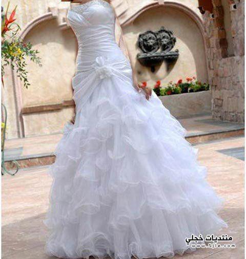 اروع فساتين زفاف فساتين اعراس