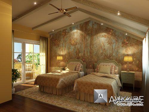 اصباغ الجدران الوان بويه لجدران