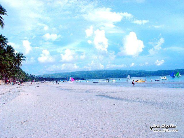 جزيرة بوراكى بالمحيط الهادى 2013