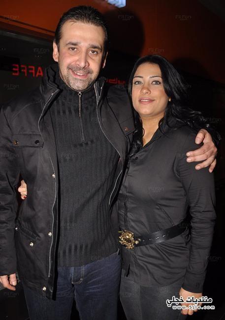 كريم العزيز وزوجته 2014 كريم