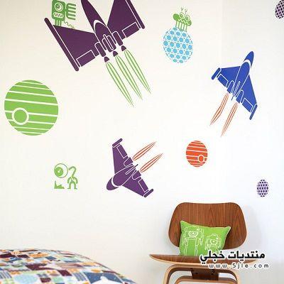 حائط لغرف الأطفال2014 جدران لغرف