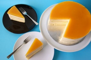 الكعكة الاسفنجية بنكهة البرتقال اجدد