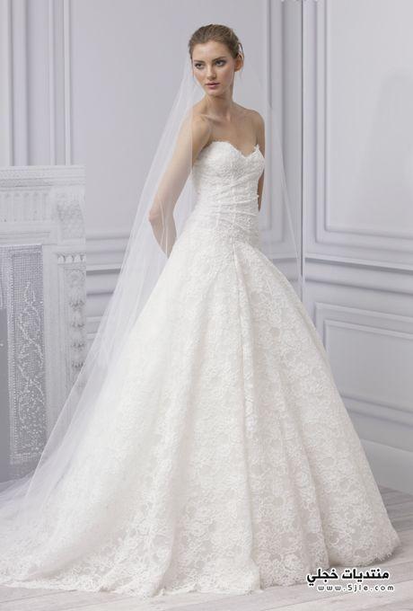 فساتين زفاف فساتين زفاف راقية