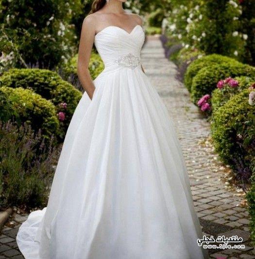 مجموعة فساتين اعراس جميلة فساتين