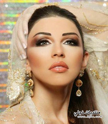 جديد للعروس 2013 مكياج للعرائس