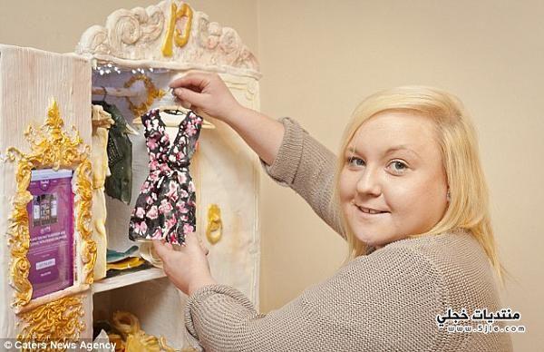 خزانة ملابس الكيك 2013 خزانة