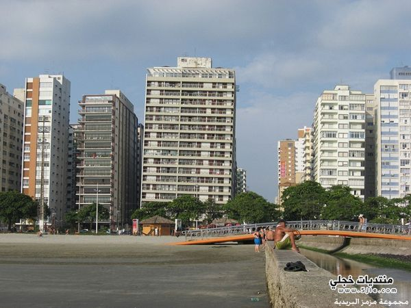 مباني سانتوس المائلة بالبرازيل 2014