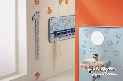 حمامات اطفال جديدة 2014 ديكور