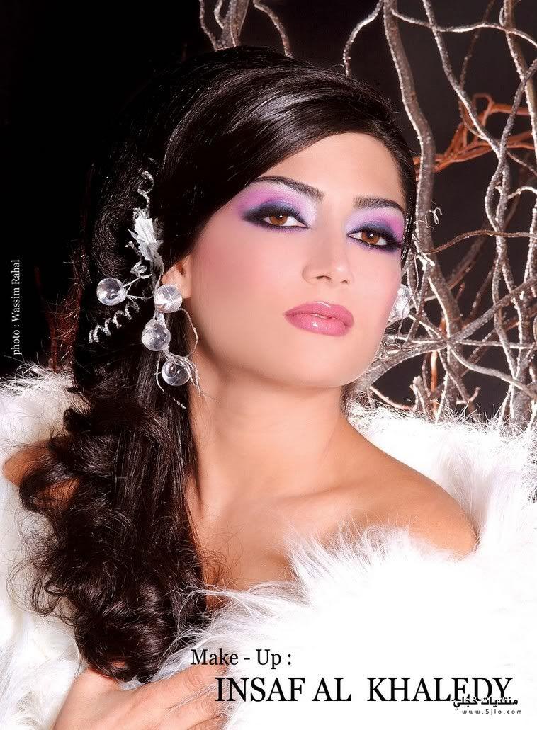 مكياج للعروسه مكياج انيق للعروسه