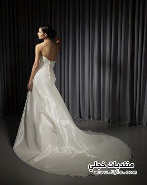 اروع فساتين زفاف تهبل 2014