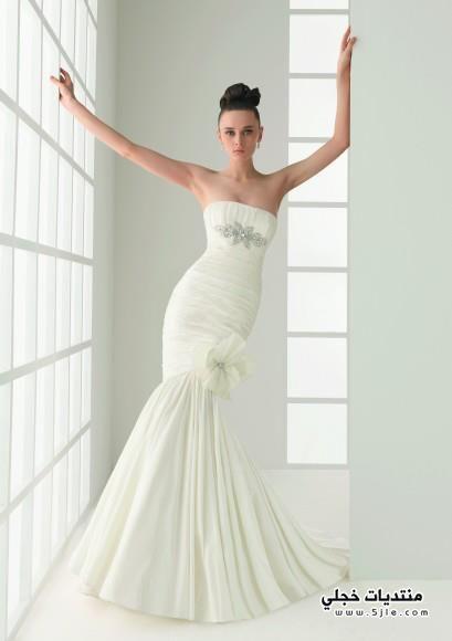 فساتين زفاف رقيقة فساتين زفاف
