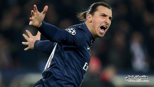 ابراهيموفيتش افضل لاعب الدوري الفرنسي
