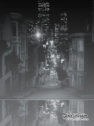 اجدد خلفيات بلاك بيري شوارع