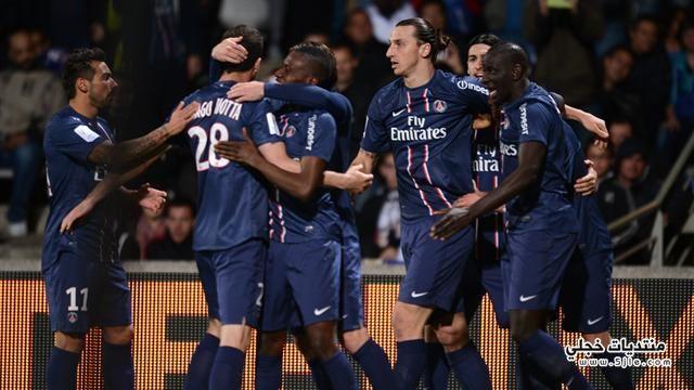 باريس جيرمان يتوج للدوري الفرنسي