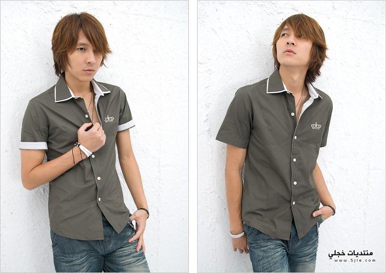 ازياء كورية للشباب 2013 قمصان