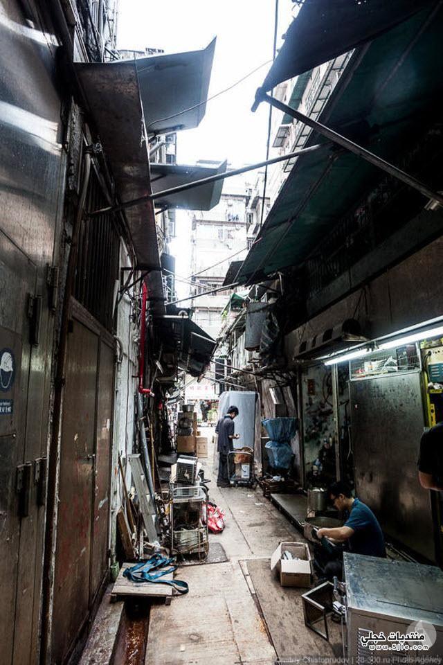 شوارع هونج كونج Hong Kong