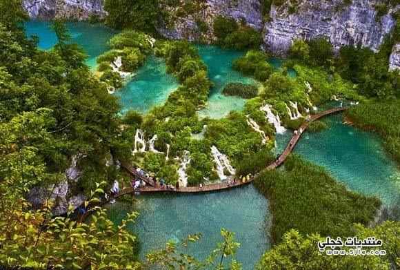 بحيرات بليتفيتش الكرواتيه طبيعة بليتفيتش