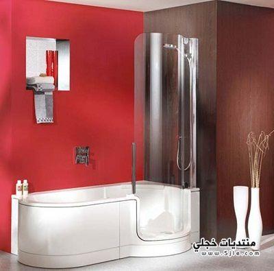 ديكورات حمامات جديدة 2013 حمام
