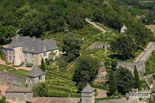 طبيعة بساتين فرنسا الجميلة فرنسا