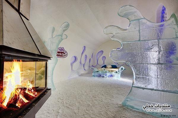 جديده فندق الجليد حلوه فندق