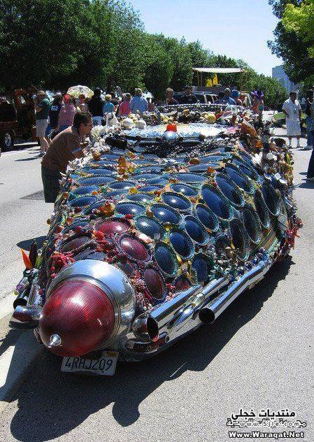 سيارات غريبة سيارات غريبة الشكل