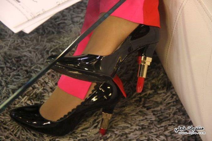 حذاء لجين عمران لجين عمران