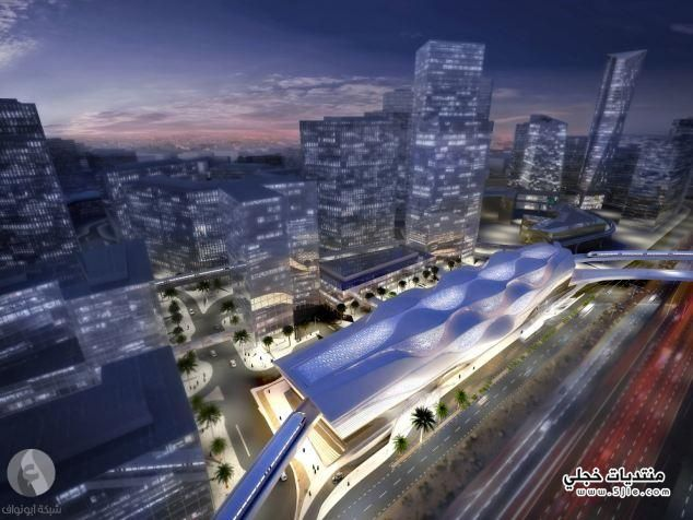 محطة مترو الملك عبدالله الرياض