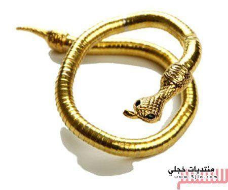 مجموعة خواتم ثعبان 2015 مجوهرات