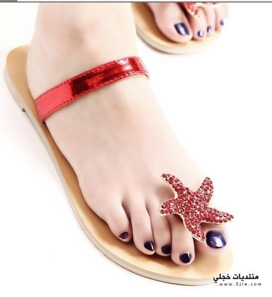 احذية صيفيه ناعمة 2014 اشيك