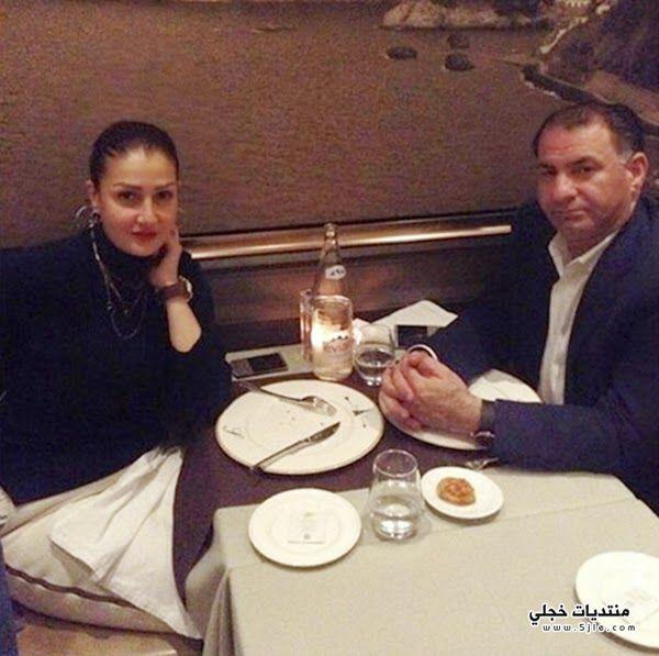 غادة الرازق وزوجها 2015