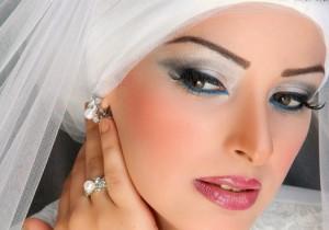 مكياج ثلجي مكياج ثلجي للعروس