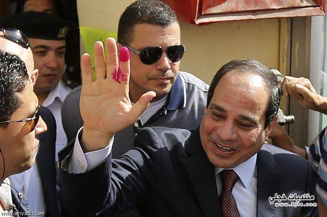 السيسي رئيس 2014 الفتاح السيسي